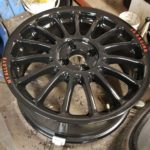 Wheels ready for tyres